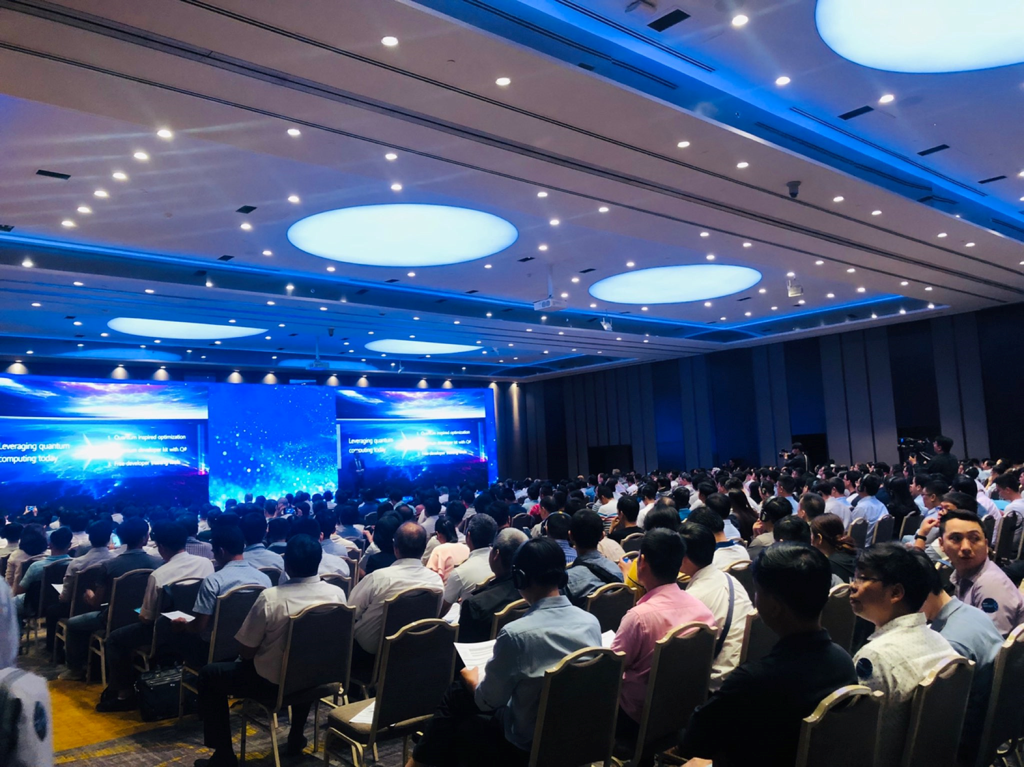 Innovation Summit 2019 is an IT major event which has attracted the attendance of over 1000 customers from various industries
