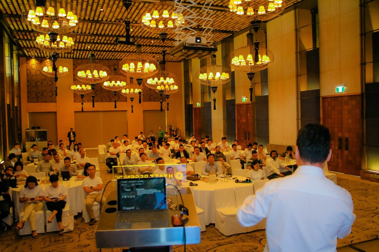 The workshop attracted many CxO from Enterprises and Corporations